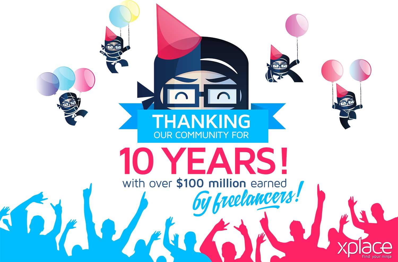 XPlace Celebrates 10 Years!